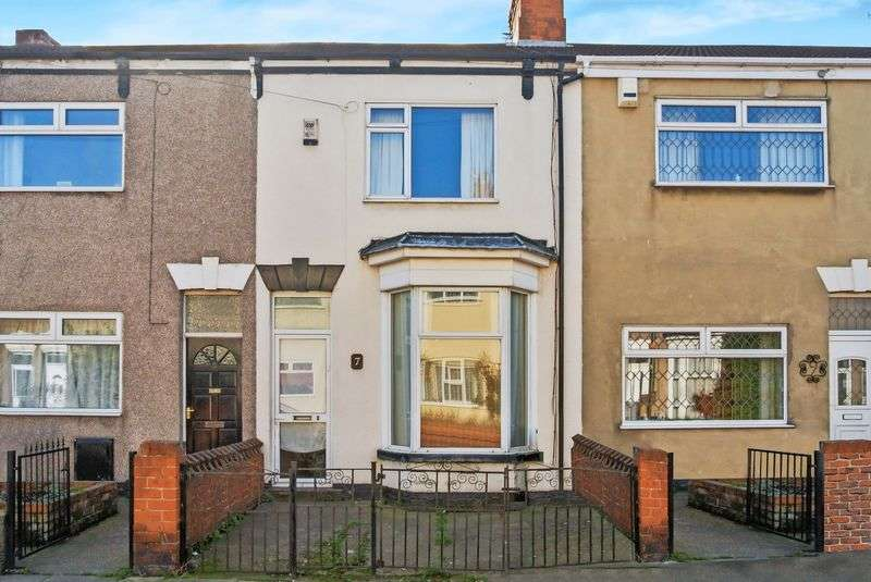 3 Bedrooms Terraced House for sale in Crescent Street, DN31 2HB