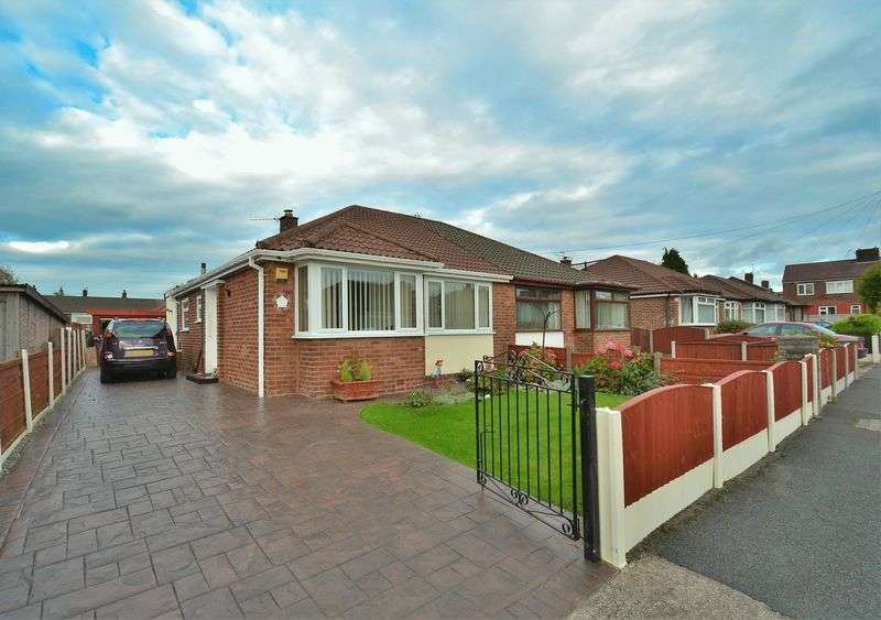 2 Bedrooms Semi Detached Bungalow for sale in Normanby Grove, Swinton
