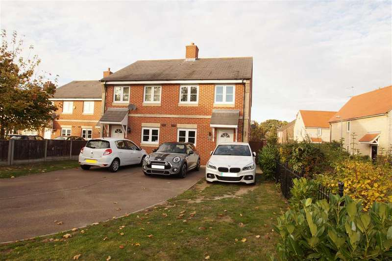 3 Bedrooms Semi Detached House for sale in Whitehall Close, Colchester