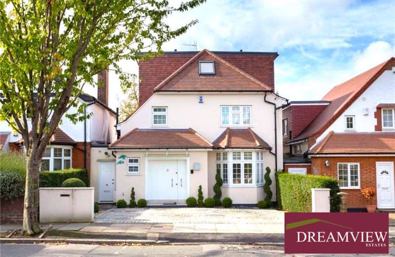 5 Bedrooms Detached House for sale in WENTWORTH ROAD, GOLDERS GREEN, LONDON, NW11