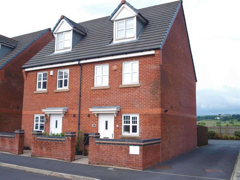 3 Bedrooms Semi Detached House for sale in Coppy Bridge Drive, Firgrove, OL16 3AR