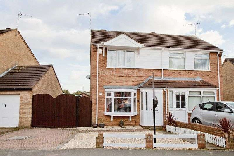 2 Bedrooms Semi Detached House for sale in Elsham Crescent, Lincoln