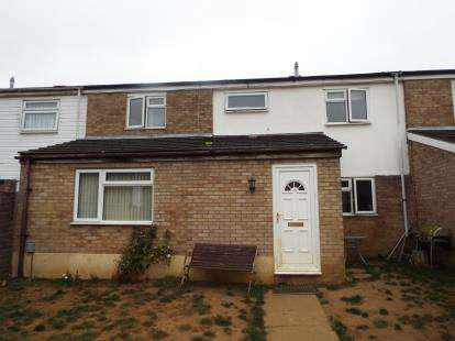 3 Bedrooms Terraced House for sale in Derby Way, Stevenage, Hertfordshire, United Kingdom