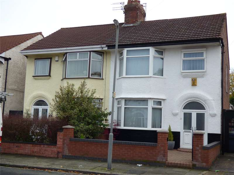 3 Bedrooms Semi Detached House for sale in Apsley Road, Liverpool, Merseyside, L12