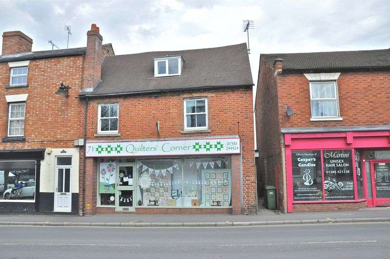 1 Bedroom Terraced House for sale in Port Street, Evesham, WR11 3LF