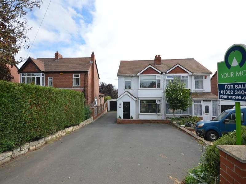 3 Bedrooms Semi Detached House for sale in Woodview Grange Lane, Burghwallis, Doncaster, DN6