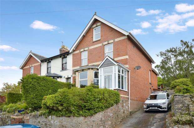 5 Bedrooms End Of Terrace House for sale in Highweek Village, Newton Abbot, Devon