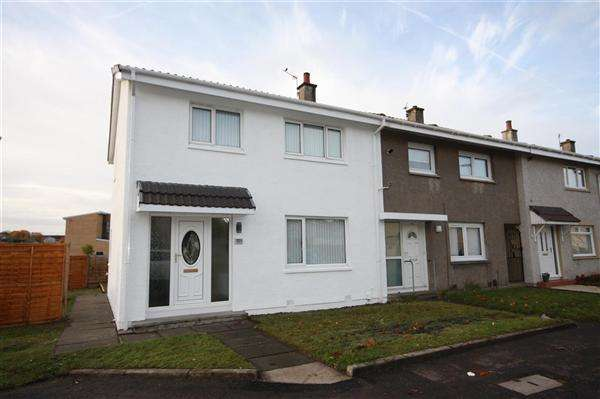 3 Bedrooms Semi Detached House for sale in Vancouver Drive, East Kilbride