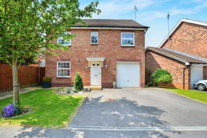 4 Bedrooms Detached House for sale in Dodsley Way, Clipstone Village, Mansfield, Nottinghamshire