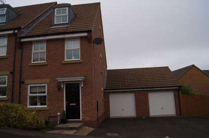 3 Bedrooms Semi Detached House for sale in Swallow Crescent, Ravenshead, Nottingham