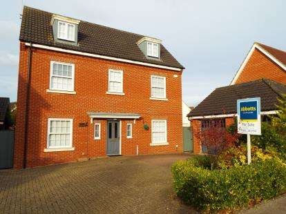 5 Bedrooms Detached House for sale in Downham Market, Kings Lynn, Norfolk