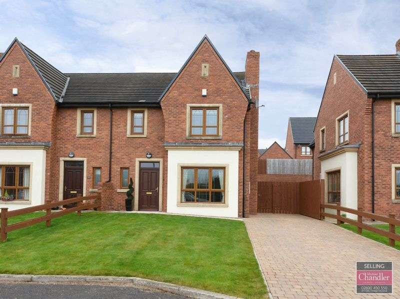 4 Bedrooms Semi Detached House for sale in 12 Brooke Hall Close, Belfast, BT8 6WF