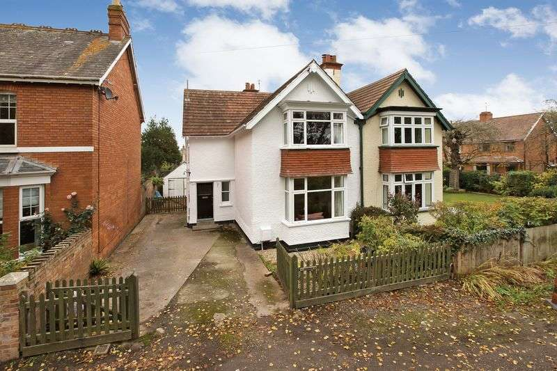 3 Bedrooms Semi Detached House for sale in Riverside, Taunton