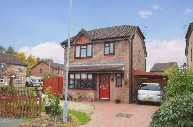 3 Bedrooms Detached House for sale in Shannon Close, Saltney, Chester