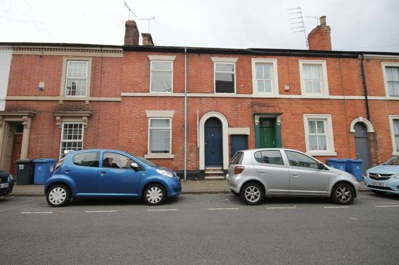 4 Bedrooms Terraced House for sale in CROMPTON STREET, DERBY