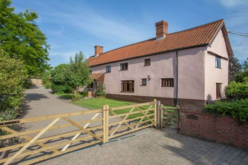 5 Bedrooms Detached House for sale in Shelfanger