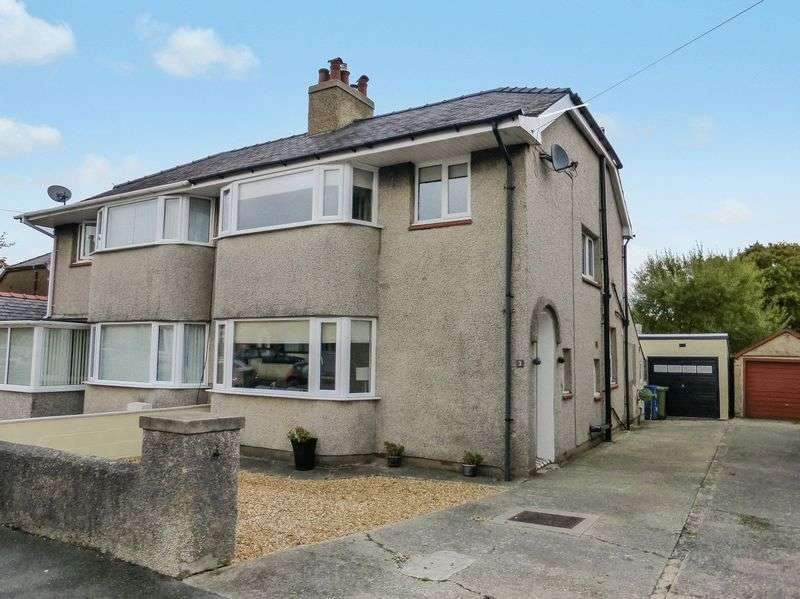 3 Bedrooms Semi Detached House for sale in Bangor