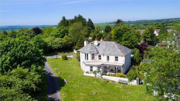 4 Bedrooms Detached House for sale in St. Cleer, Liskeard, Cornwall