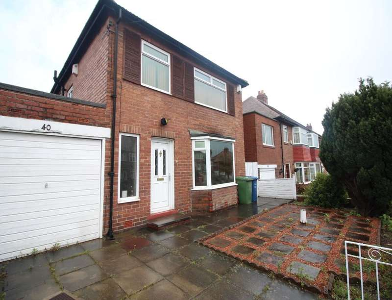 3 Bedrooms Detached House for sale in Red Hall Drive, Newcastle Upon Tyne, NE7