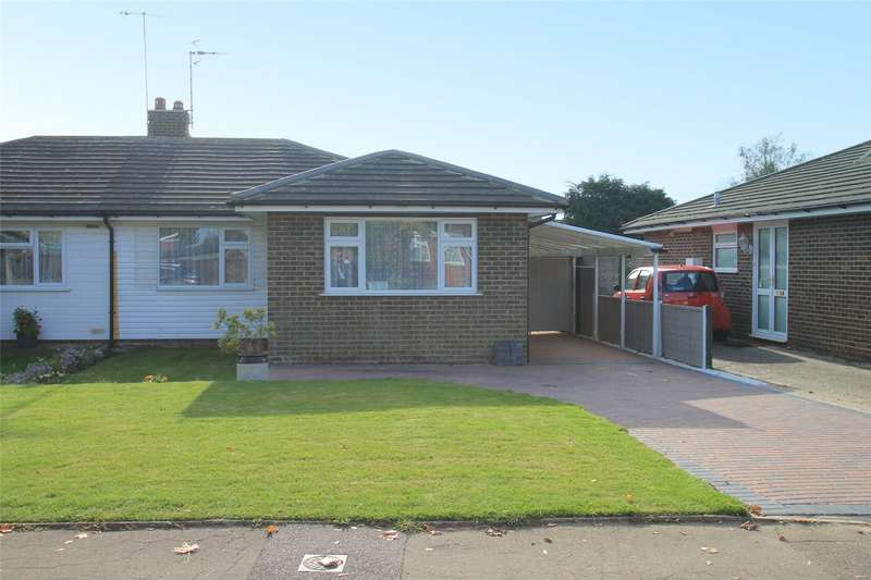 2 Bedrooms Semi Detached Bungalow for sale in Ashurst Way, East Preston, West Sussex, BN16