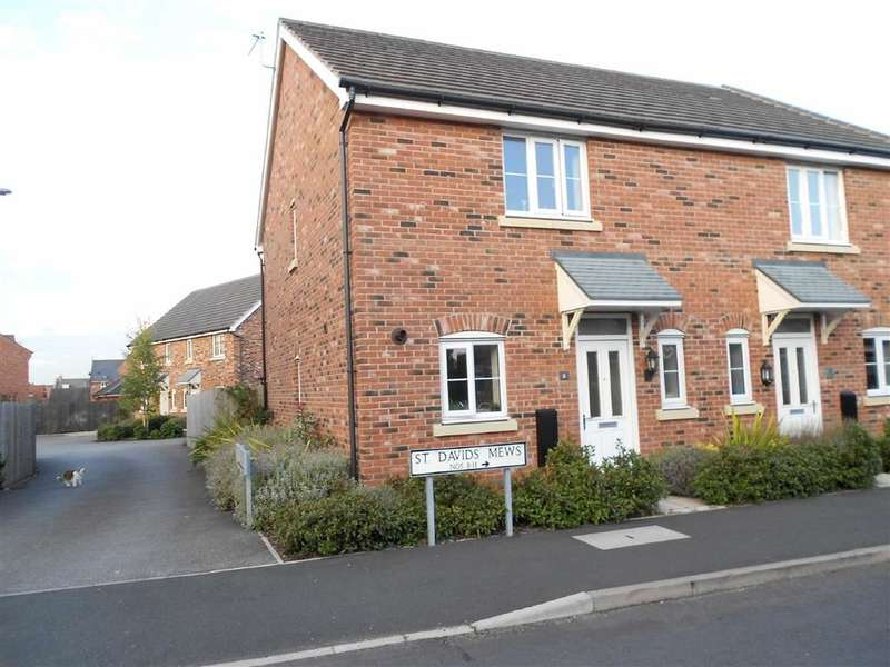 2 Bedrooms Property for sale in St Davids Mews, Wychwood Village, Crewe
