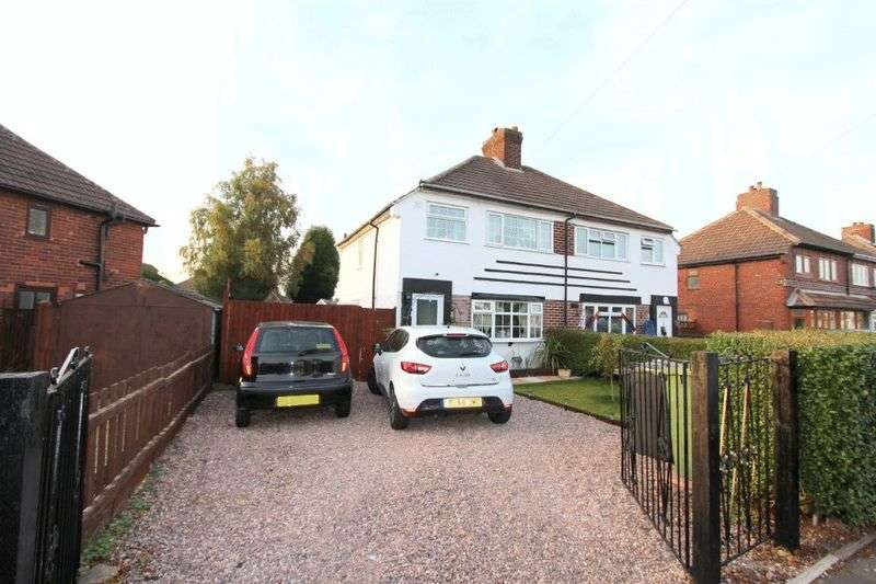 3 Bedrooms Semi Detached House for sale in Oak Road, Walsall