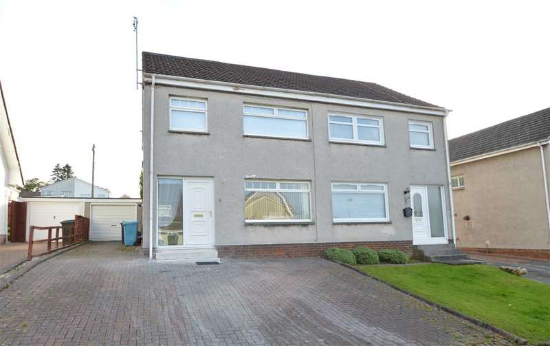 3 Bedrooms Semi Detached House for sale in 6 Kenneth Road, Motherwell