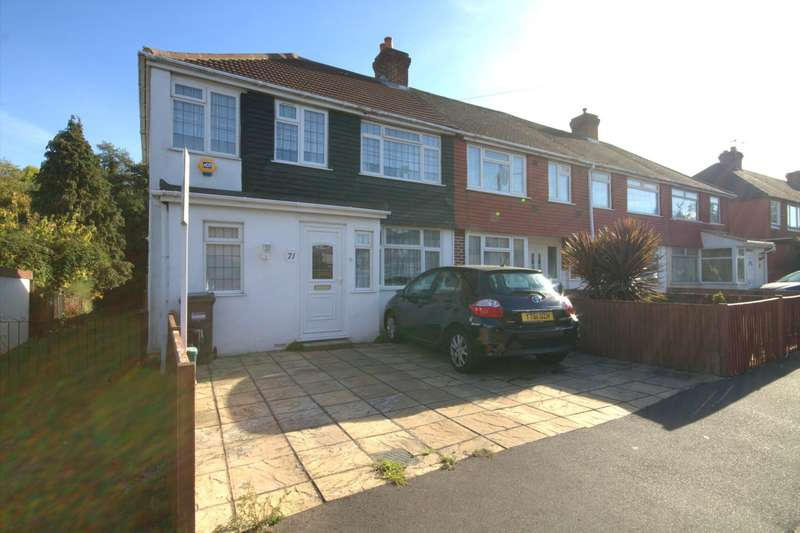 3 Bedrooms End Of Terrace House for sale in Beeston Way, Feltham, TW14