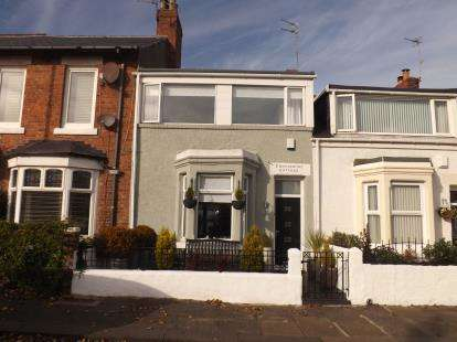 2 Bedrooms Terraced House for sale in Erskine Road, Westoe, South Shields, Tyne and Wear, NE33