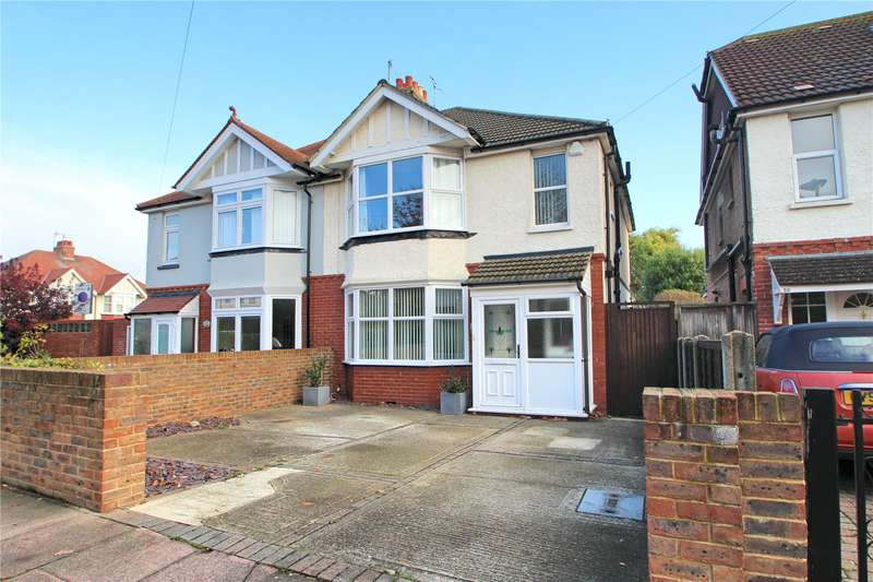 3 Bedrooms Semi Detached House for sale in St Georges Road, Worthing, West Sussex, BN11
