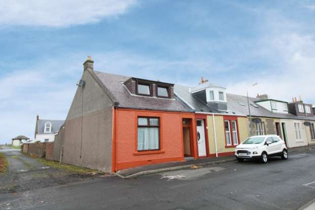3 Bedrooms Terraced House for sale in Wilson St,, Girvan, Ayrshire, KA26 9AR