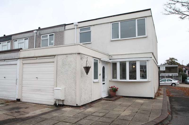 3 Bedrooms End Of Terrace House for sale in Jones Close, Southend On Sea
