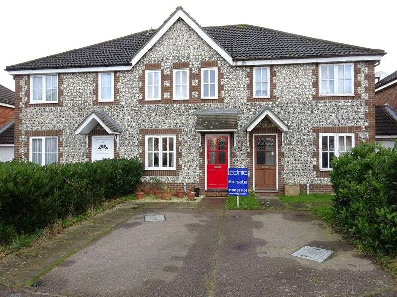 3 Bedrooms Terraced House for sale in Bill Todd Way, Taverham, Norwich