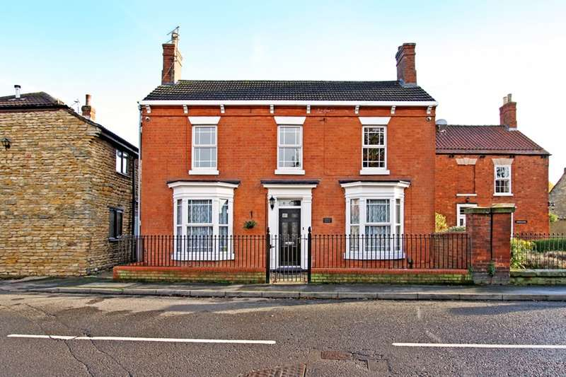 3 Bedrooms Link Detached House for sale in High Street, Waddington, Lincolnshire, LN5