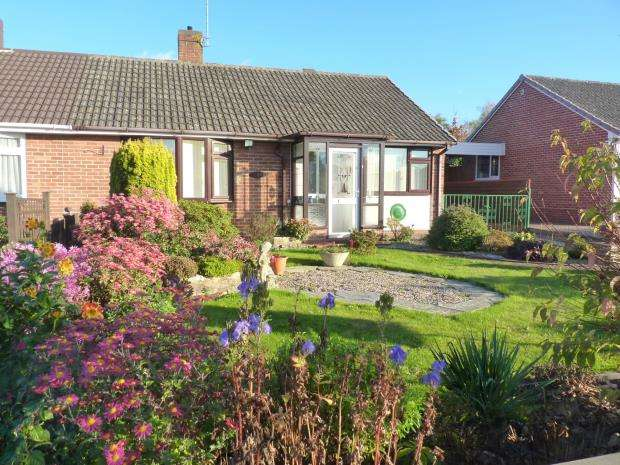 2 Bedrooms Semi Detached Bungalow for sale in Manor Orchard, Taunton, Somerset