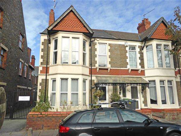 2 Bedrooms End Of Terrace House for sale in NEWFOUNDLAND ROAD, HEATH/GABALFA, CARDIFF