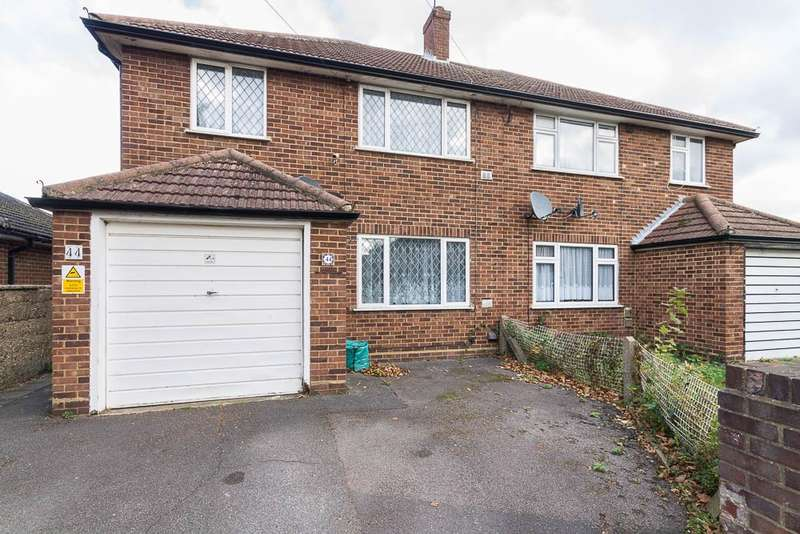 3 Bedrooms Semi Detached House for sale in Pates Manor Drive, Feltham, TW14
