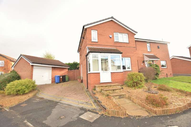 3 Bedrooms Semi Detached House for sale in Bridgend Close, Cheadle Hulme