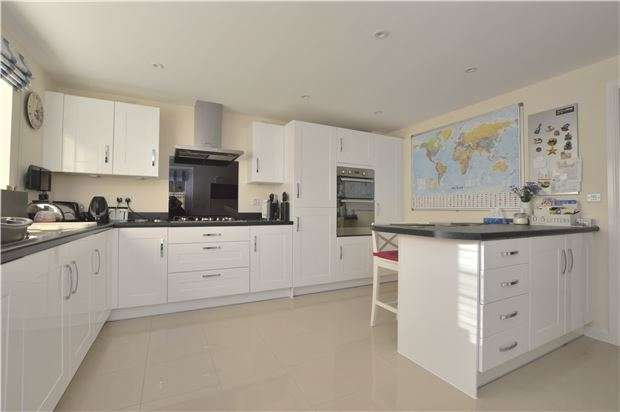 4 Bedrooms Detached House for sale in Nuthatch Drive, Bishops Cleeve, Cheltenham, Glos, GL52 8GU