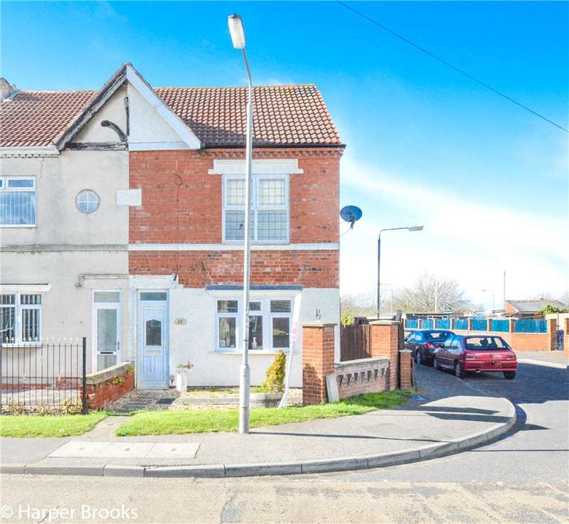 3 Bedrooms Semi Detached House for sale in Shireoaks Common, Shireoaks, Worksop, S81