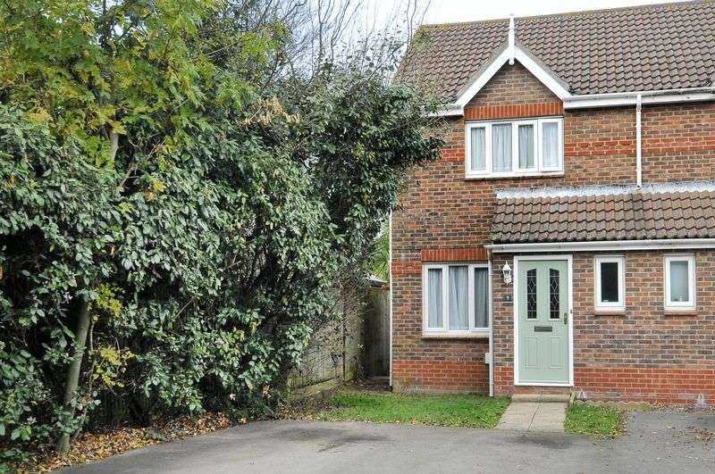 2 Bedrooms Semi Detached House for sale in Essenhigh Drive, Worthing