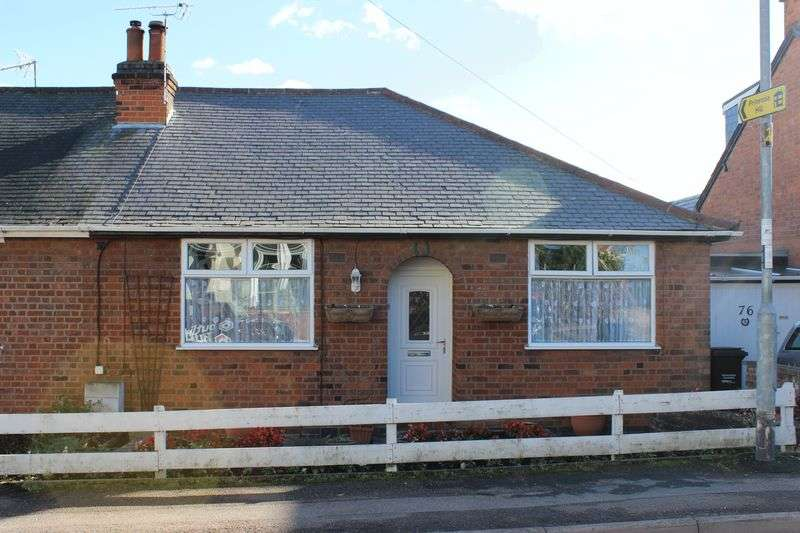 3 Bedrooms Semi Detached Bungalow for sale in Linkfield Road, Mountsorrel, Loughborough