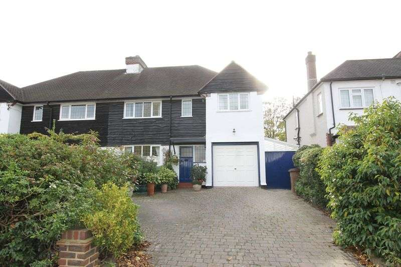 4 Bedrooms Semi Detached House for sale in South Drive, Cheam