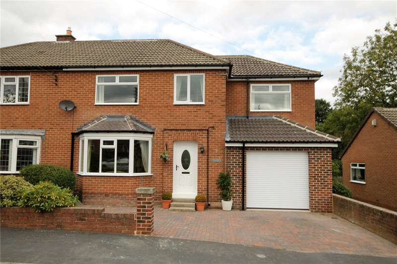 4 Bedrooms Semi Detached House for sale in Ford Crescent, Lanchester, Durham, DH7