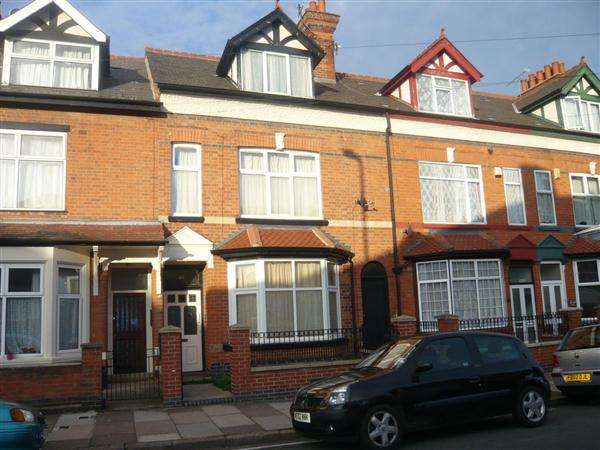 6 Bedrooms Terraced House for rent in Kimberley Road, LEICESTER