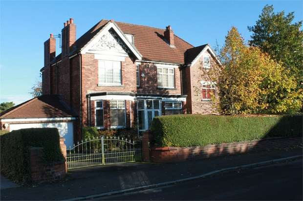 4 Bedrooms Detached House for sale in Broadoak Road, Worsley, Manchester