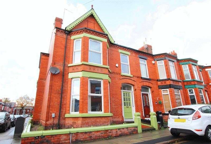 4 Bedrooms Terraced House for sale in Plattsville Road, Mossley Hill, Liverpool, L18