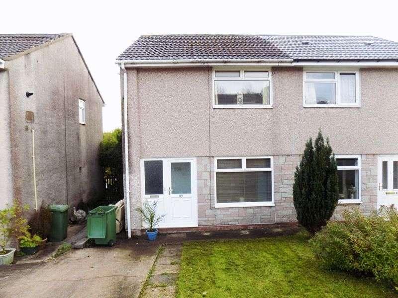 2 Bedrooms Semi Detached House for sale in Heol Seward, Pontypridd