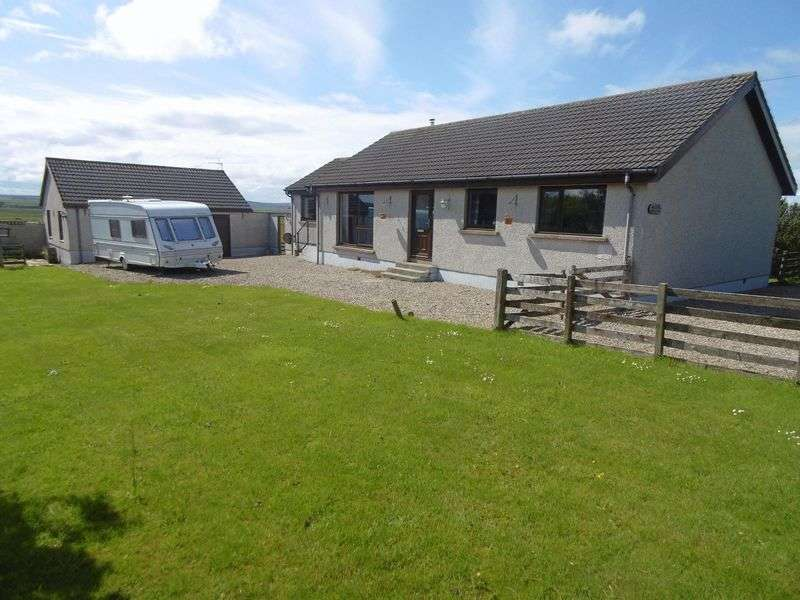 3 Bedrooms Detached Bungalow for sale in Mossgiel, Halkirk