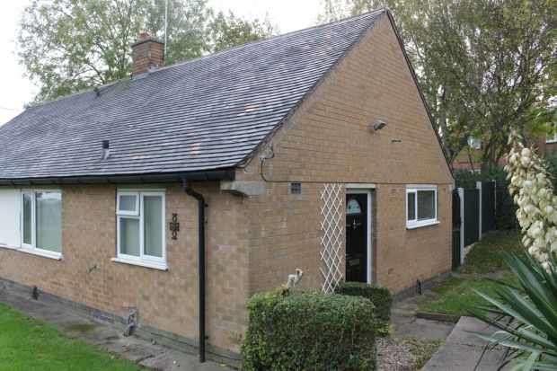 1 Bedroom Semi Detached Bungalow for sale in Marldon Close, Nottingham, Nottinghamshire, NG8 4DJ